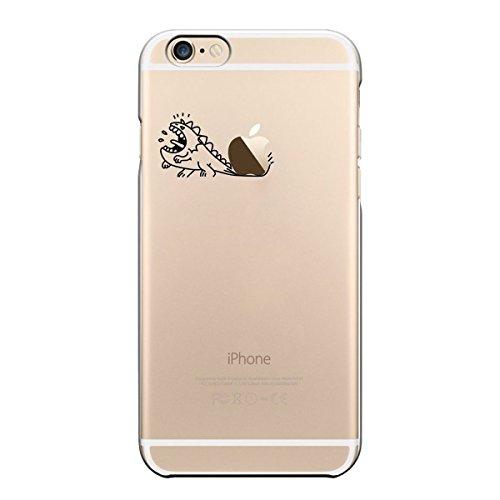iPhone 7 Custodia, Pacyer® Creativo Cover Silicone Gel TPU per