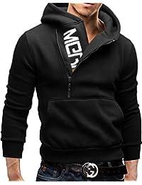 MERISH Hoodie Herren Kapuzenpullover Logo Sweatshirt Modell 08