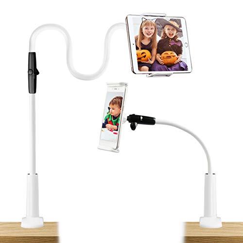 Estela Soporte para télefono móvil, Universal Teléfono Móvil Soporte flexible largos brazos Soporte giratorio de montaje en 360 grados para Phone