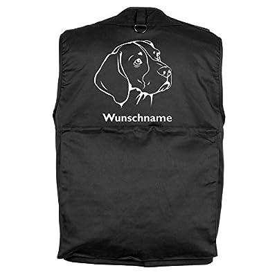 Tierisch-tolle Geschenke Beagle - Hundesportweste mit Rückentasche und Namen von Tierisch-tolle Geschenke bei Outdoor Shop