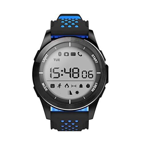 NO.1 f3 sport smartwatch drehbare zifferblatt 30m wasserdichte schwimmuhr schrittzähler outdoor armbanduhr für android ios