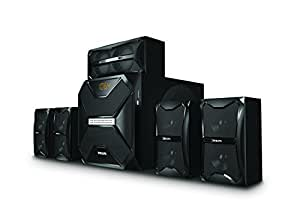 Philips SPA5250B 5.1 Channel Multimedia Speakers (Black)