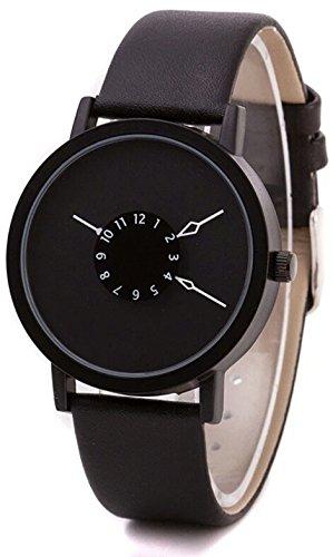 Kitcone Analogue Multi Colour Dial Women\'s Watch-Black- 3