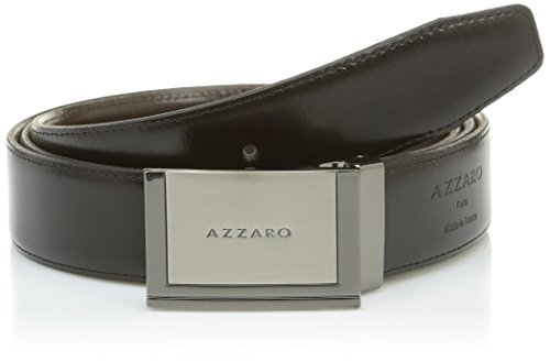 Azzaro Herren Gürtel Gr. 110 cm, Multicolore (Noir/Marron) (Azzaro Für Männer)