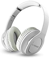 Cuffie Bluetooth Senza Fili Per PC Smartphone e Laptop Cuffie Wireless EasySMX Over-Ear Pieghevoli Con Funzione NFC Microfono Integrato Vivavoce