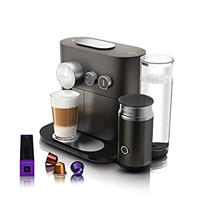 Nespresso Expert and Milk Coffee Machine, Anthracite Grey by Magimix