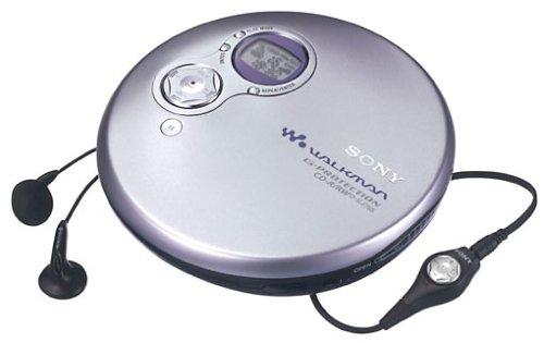 Sony D-EJ755/S tragbarer CD-Player silber
