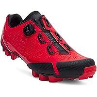 Spiuk Sportline Zapatilla MTB ALDAPA, Adultos Unisex, Rojo Mate, T. 44
