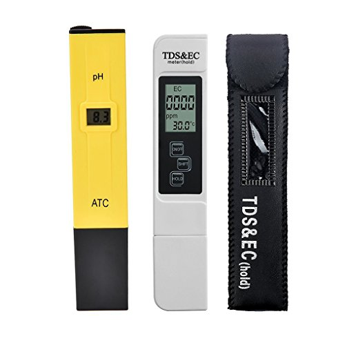 Topker 2 teile / los Digital LCD PH Meter TDS EC Wasserqualität Tester Meter Stift LCD Monitor Aquarium Pool Analyzer -