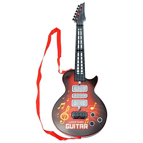 Shayson guitarra eléctrica 4 cuerdas para niños