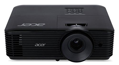Acer X118H Proiettore, Risoluzione SVGA, Contrasto 20.000:1, Luminosità  3.600 ANSI, Connessione VGA/HDMI, Speaker, Nero