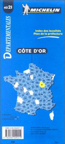 Carte routière : Côte d'Or, 4021, 1/150000