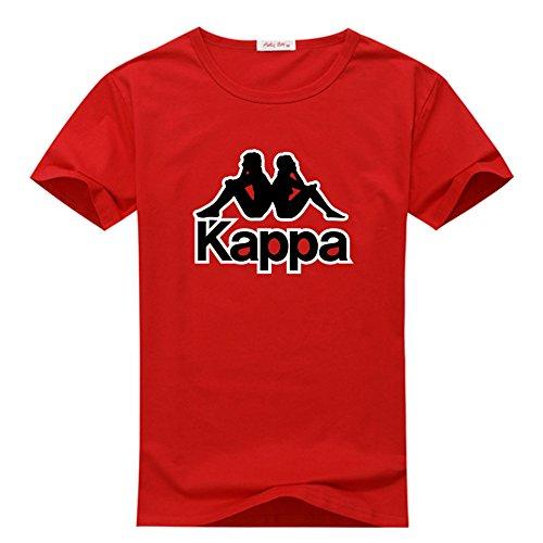 Margaretlowe Kappa Men's Short Sleeve T-Shirt Red