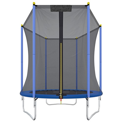 ultrasport-promo-trampolino-da-giardino-unisex-adulto-blu-183-cm