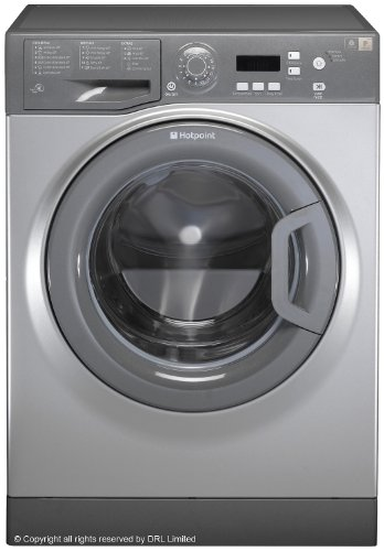 Hotpoint WMAQF641G Independent Front Load 6 kg Washing Machine - Washing Machine (Grey 1400tr/min A +, LED, Front Load, Grey, Left, Buttons, Rotating)