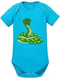 Shirtcity Cute Snake Illustration Baby Strampler by