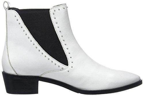 Bronx Damen Bx 1431 Btex-chunkyx Chelsea Boots Weiß (bianco 04)
