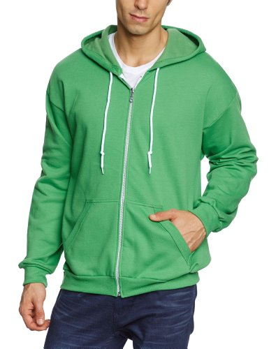 anvil-herren-sweatjacke-71600-gr-54-56-xl-grun-gap-green-apple