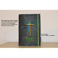 Gotteslob Hülle Gotteslobhülle mit individueller Bestickung - Normal - oder Großdruckausgabe Kommunion
