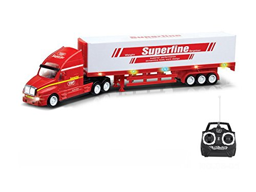 RC Lastwagen Superior US Music Truck über 1/2 Mtr ferngesteuerter Lastwagen LKW 51cm Länge - Hammerbeleuchtung - mit Sound