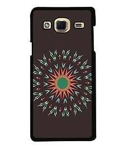 PrintVisa Designer Back Case Cover for Samsung Galaxy J3 2015 (Abstract Illustration Decoration Card Celebration Vector Concept Portrait)