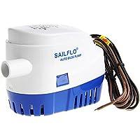 Romsion Automatische Wasserpumpe, 12 V, 24 V, 750 GPH, für Boote, Tauchpumpen