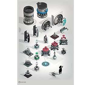 Portal 2 poster diaframma catalogo prodotti 60 cm x 90 for Cucinare diaframma