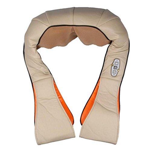 Massage-Schal-Multifunktions-Nacken- und Schultermassage Shiatsu Knet-Massagegerät Haus und Auto-Gebrauch (Knet-massagegerät Auto)