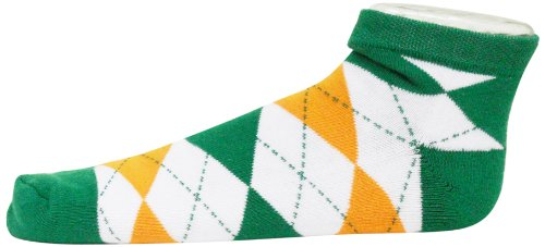 Donegal Bay Irland Argyle No Show Footie Socken