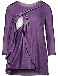 143e1cf4055c4 Amazon.co.uk  Purple - Tops   Tees   Maternity  Clothing