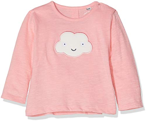 -Mädchen 1/1 T-Shirt, Flamingo Pink 2063, 80 ()