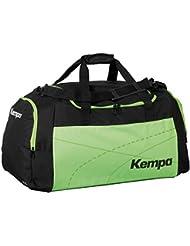 Kempa Teamline - Bolsa de deportes multicolor negro, verde Talla:55 x 28 x 33 cm, 50 litros