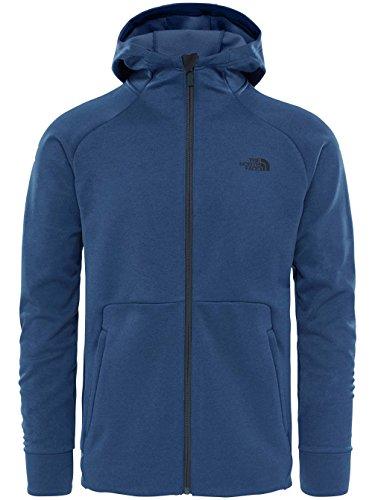 The North Face Versitas Hoodie Jacket Men - Kapuzen Fleecejacke shady blue