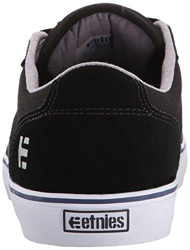 Etnies Herren Barge LS Skateboardschuhe Black (Black/White976)
