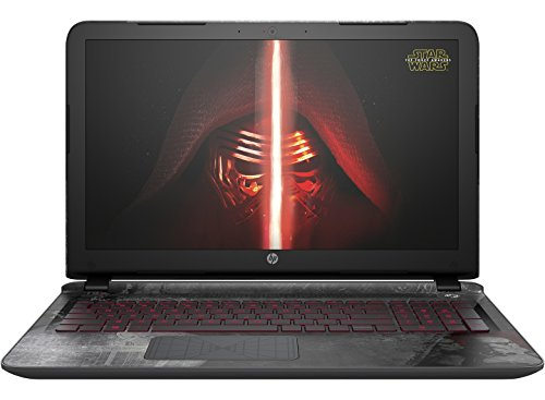 HP Pavilion 15-an000na Star Wars Special Edition 15.6-Inch Laptop (Intel Core i5-6200U 2.8GHz, 6GB RAM, 1TB HDD, Intel HD Graphics 520, B&O Play Audio, Windows 10)