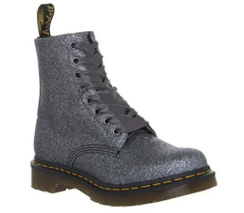 Dr.Martens 24320041 Pascal PU Pewter - Damen Schuhe Boots Stiefel - Glitter, Größe:40 EU