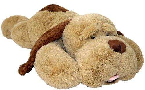 Wagner 9013 - XXL Riesen Plüschhund - 85 cm groß - Kuschelhund Teddybär Plüschtier Plüsch Plüschbär