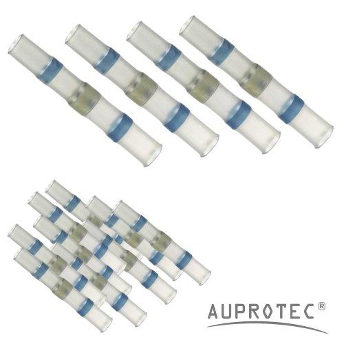 10 - 100 CONECTORES TERMOCONTRAIBLES EMPALMES DE SOLDATURA AZUL Ø 5 MM 1 0 - 2 5 MM² SELECCION: (50 - PIECES)