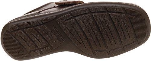 Cosyfeet Jones Schuhe - Besonders geräumig / Extra Roomy (breite Passform M+ Euro / HH+ Width Fitting UK) Braun, Leder