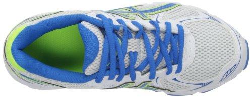 Asics , Chaussures de course pour garçon Blanc