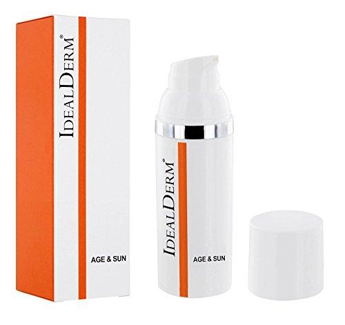 Anti-Ageing Emulsion, ölfrei & Wasserfest SPF50+ Keine Allergene, mit Vitamine, GP4G, für alle...