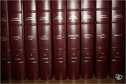 encyclopedie larousse en 20 volumes