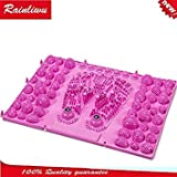 green : Foot massager Lady Special-purpose Massage board Foot massage pad for ld