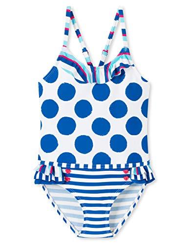 Schiesser Mädchen Aqua Badeanzug, Mehrfarbig (Multicolor 1 904), (Herstellergröße: 140)