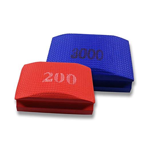Entgraten Handpad zum Schleifen K/örnung 800 Schleifschwamm Polieren Handschleifpad