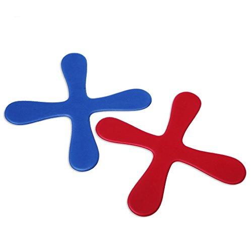 only y Boomerang, 4 Blätter, für den Außenbereich, für Kinder, Spielzeug