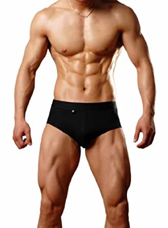 Dominik Black Boxer Briefs (OSB2179) (M)