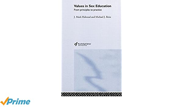 Education from in practice principle sex values
