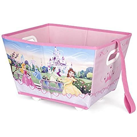 Disney Princess Rolling Bin with Handle by Disney