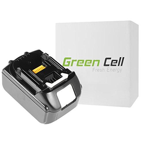 Preisvergleich Produktbild Green Cell® Werkzeug Akku für Makita DUR362LZ (Samsung Li-Ion Zellen 4 Ah 18V)